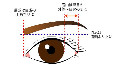 眉のはなしイラスト2